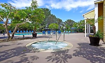 Pool, Mariner's Cove Apartments, 1