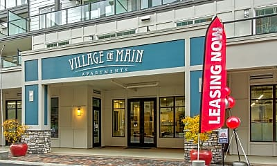 Community Signage, Village On Main, 2
