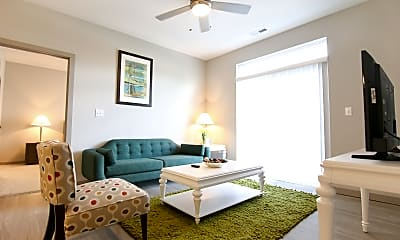 Living Room, The Flats at 345, 0