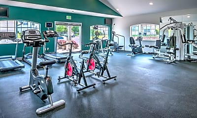 Fitness Weight Room, Township Residences, 1