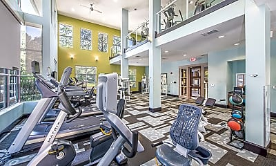 Fitness Weight Room, MAA Chastain, 1