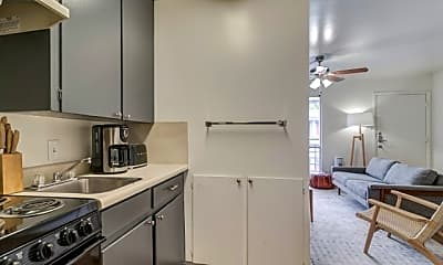 Kitchen, Oasis at the Speedway, 2