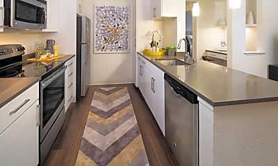 Kitchen, Avalon Silicon Valley, 1