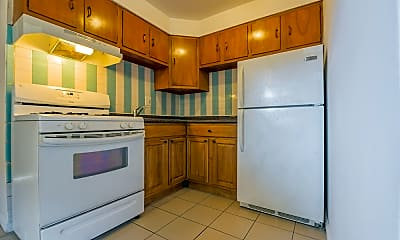 Kitchen, Jason Court Apartments, 0
