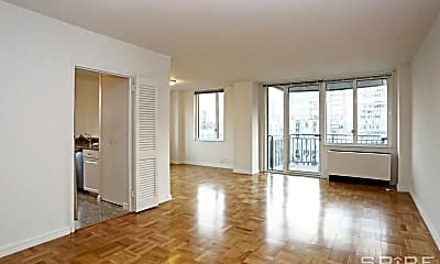 Living Room, 300 E 75th St, 1