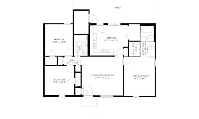 Building, 3535 Laurel Cove, 2