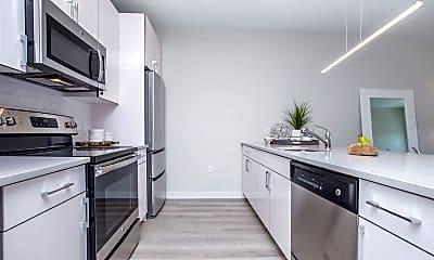 Kitchen, 16 Bennett St 406, 1