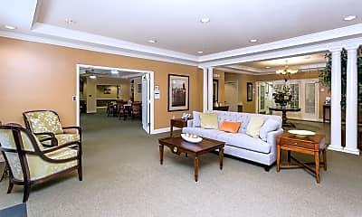 Living Room, Arbor Crest Senior, 1
