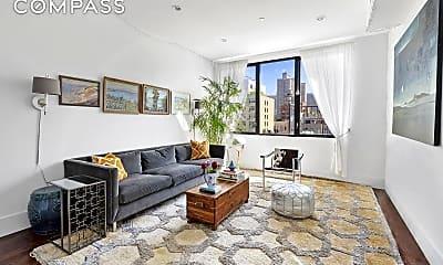 Living Room, 413 E 78th St PH, 1