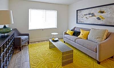 Living Room, Biscayne Shores, 1
