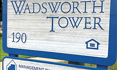 Wadsworth Tower, 1