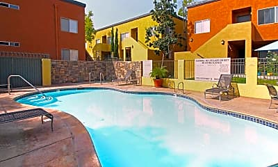 Pool, 1333 Canyon Apartment Homes, 2
