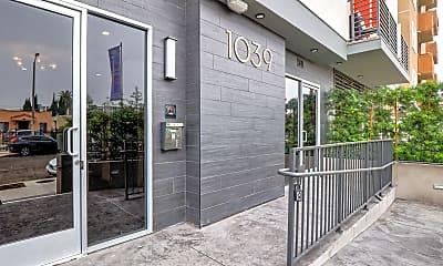 Community Signage, Lido Apartments at 1039 S. Hobart, 1