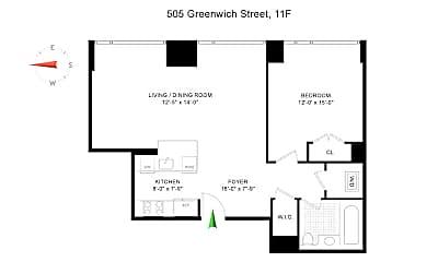 505 Greenwich St 11F, 2