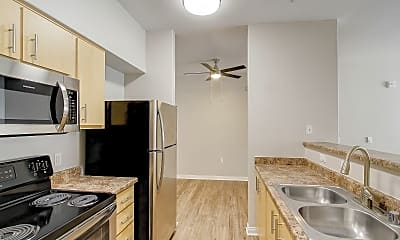 Kitchen, Woodland Apartments, 0