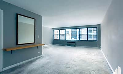 Living Room, 850 N Dewitt Pl, 1
