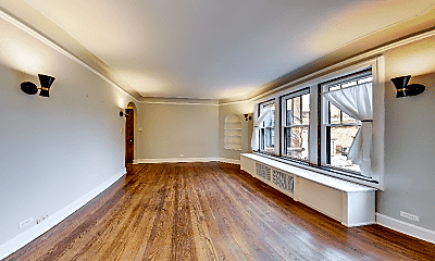 Living Room, 1225 W Granville Ave, 1