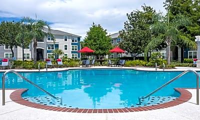 Pool, Bahia Cove Apartments, 1