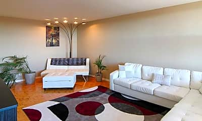 Living Room, Troy Towers, 1