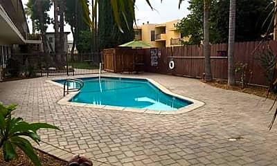 Pool, 7314 Variel Ave, 1