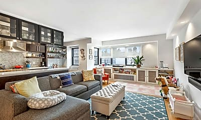 Living Room, 176 E 77th St 12-H, 0