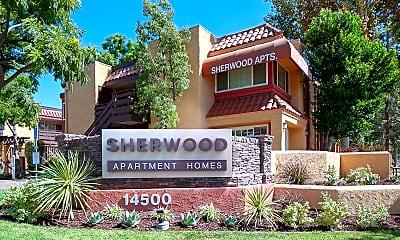 Community Signage, Sherwood Apartments, 1