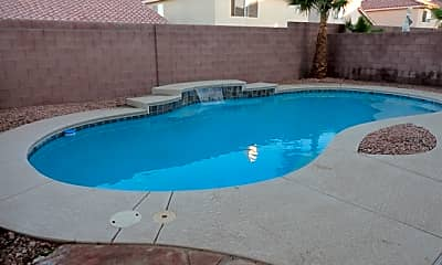 Pool, 7640 Ribbon Garland Court, 2