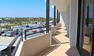 Patio / Deck, 2828 N Atlantic Ave B060, 1