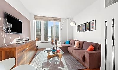 Living Room, 15 William St 31-C, 1
