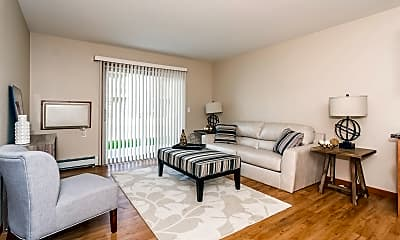 Living Room, Sterling Pointe Apartments, 0