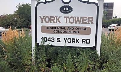 York Tower, 1