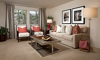Living Room, Rancho Santa Fe, 1