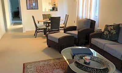 Living Room, 5807 N Atlantic Ave 825, 1