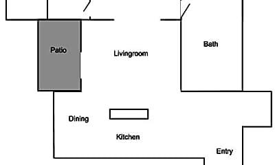 Kitchen, 155 NE Kane Dr, 2
