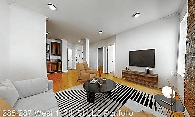Living Room, 285 W 147th St, 0