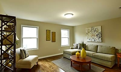 Living Room, Hackensack Homes, 1