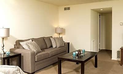 Living Room, Driftwood Club Apartments, 0
