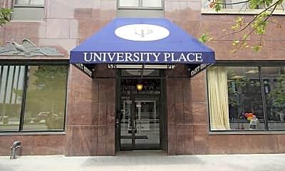 Community Signage, University Place Apartments, 2