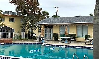 Pool, Courtenay Palms, 1