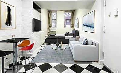 Living Room, 223 E 78th St, 0