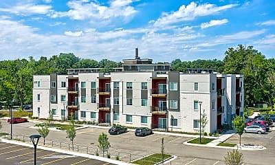Building, Red Cedar Flats, 0
