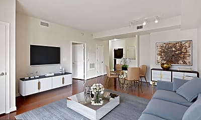 Living Room, 1111 25th St NW 714, 0