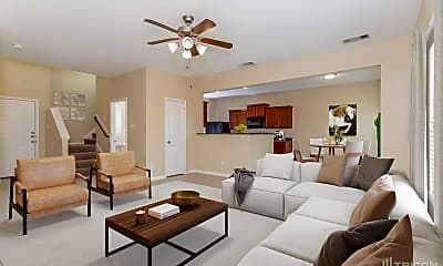 Living Room, 301 Summer Horse Dr, 1
