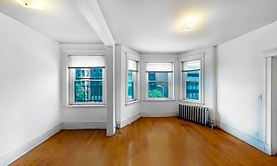 Living Room, 46 Westland Ave #19, 2