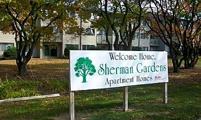 Community Signage, Sherman Gardens, 0