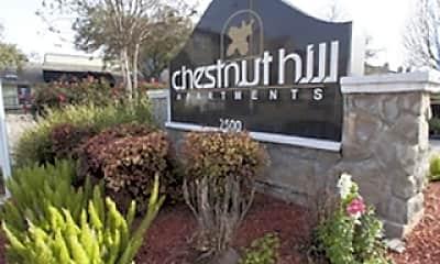 Community Signage, Chestnut Hill, 1