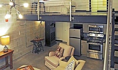 Living Room, The Warehouse Lofts, 0