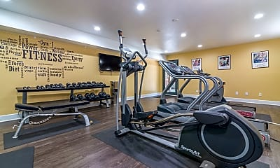 Fitness Weight Room, Portico Villas, 2