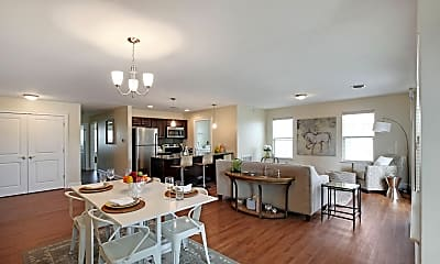 Dining Room, Springs Luxury Apartments, 1