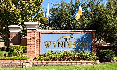 Community Signage, The Wyndham Apartments, 2